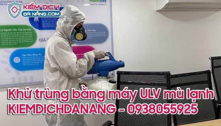 Máy ULV phun mù lạnh